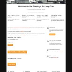 Saratoga Archery Club Website
