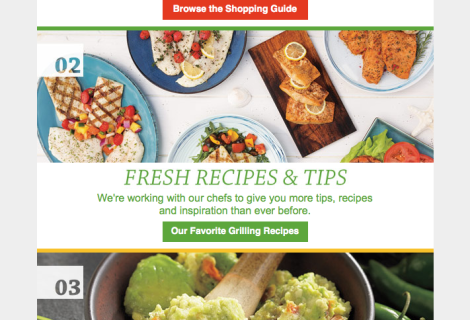 Schwan's See What's New Email