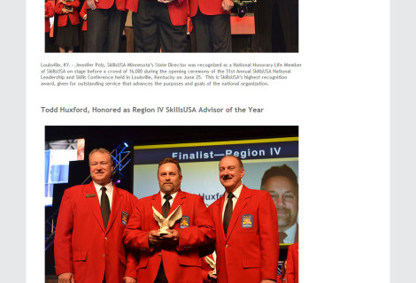 SkillsUSA Minnesota Website