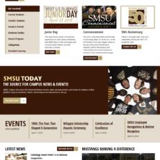 Redesign/Migrate www.SMSU.edu